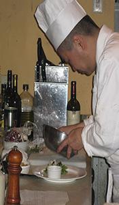 村上市のイタリアン・南欧料理 カーサ デル ファーロのシェフ