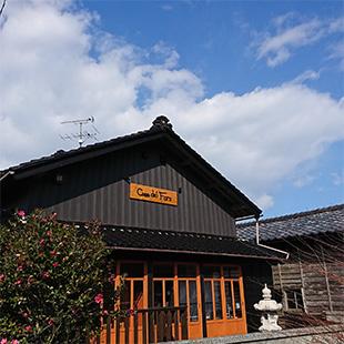 村上市のイタリアン・南欧料理 カーサ デル ファーロの外観